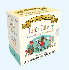 Julia Donaldson: Tales From Acorn Wood Little Library