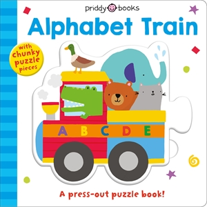 Roger Priddy: Puzzle & Play: Alphabet Train