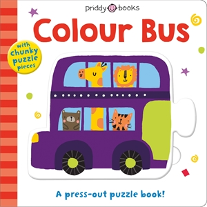 Roger Priddy: Puzzle & Play: Colour Bus