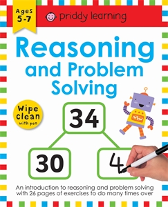 Roger Priddy: Reasoning and Problem Solving: Wipe Clean Workbook