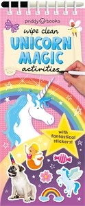 Roger Priddy: Wipe Clean Unicorn Magic Activities