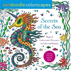 Deborah Muller: Zendoodle Colorscapes: Secrets of the Sea