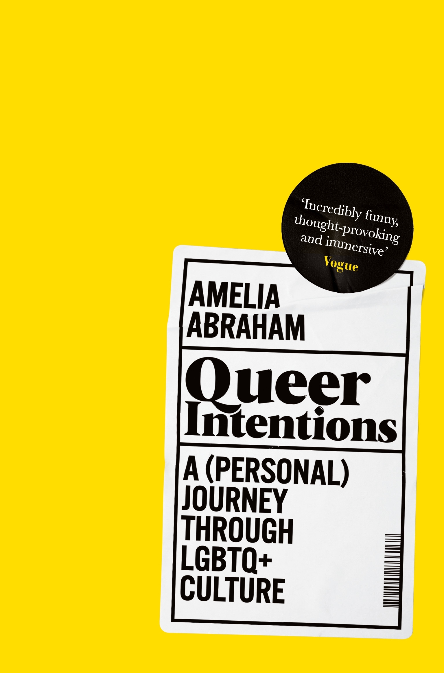 Queer Intentions: A (Personal) Journey Through LGBTQ + Culture - Pan  Macmillan AU