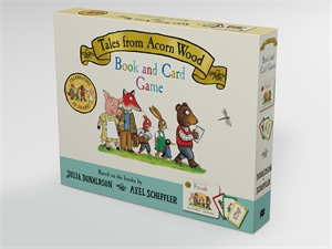 Axel Scheffler: Tales from Acorn Wood Book and Card Game