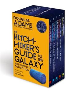 Douglas Adams: Douglas Adams Pan Boxset - The Hitchhiker's Guide to the Galaxy Book 1-5
