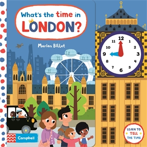 Campbell Books: What's the Time in London?