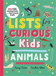 Tracey Turner: Lists for Curious Kids: Animals
