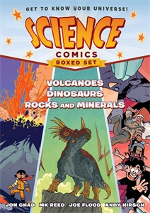 Andy Hirsch: Science Comics Boxed Set: Volcanoes, Dinosaurs, and Rocks and Minerals