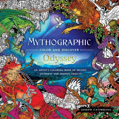 Joseph Catimbang: Mythographic Color and Discover: Odyssey