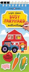 Roger Priddy: Wipe Clean Busy Barnyard Activities