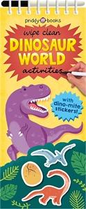 Roger Priddy: Wipe Clean Dinosaur World Activities