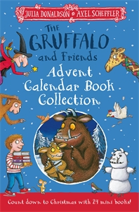 Julia Donaldson: The Gruffalo and Friends Advent Calendar Book Collection