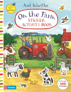 Campbell Books: On The Farm Sticker Book