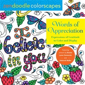 Tish Miller: Zendoodle Colorscapes: Words of Appreciation