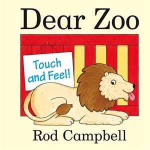 Rod Campbell: Dear Zoo Touch and Feel Book