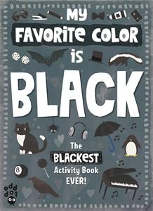 Odd Dot: My Favorite Color Activity Book: Black