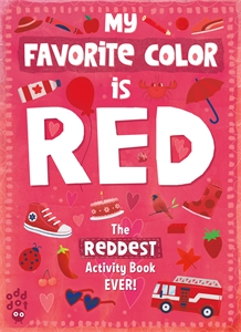 Odd Dot: My Favorite Color Activity Book: Red
