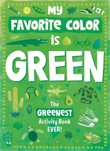 Odd Dot: My Favorite Color Activity Book: Green