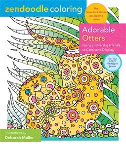 Deborah Muller: Zendoodle Coloring: Adorable Otters