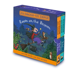Julia Donaldson: Room on the Broom and The Snail and the Whale Board Book Gift Slipcase