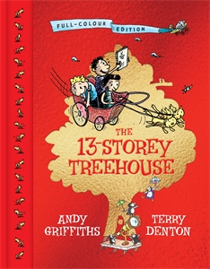Andy Griffiths: 13-Storey Treehouse: Colouring-In Book
