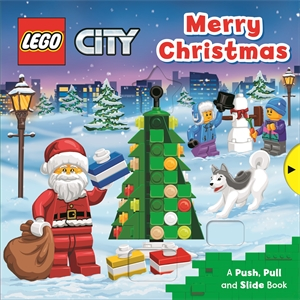 Campbell Books: LEGO Merry Christmas: A Push, Pull and Slide Book