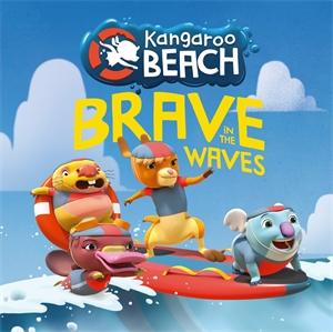 Kangaroo Beach: Kangaroo Beach: Brave in the Waves
