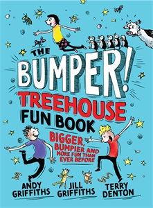 Andy Griffiths: The Bumper Treehouse Fun Book