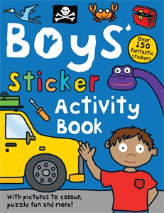 Boys' Sticker Activity