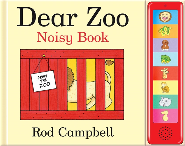 Dear Zoo Noisy Book - Rod Campbell