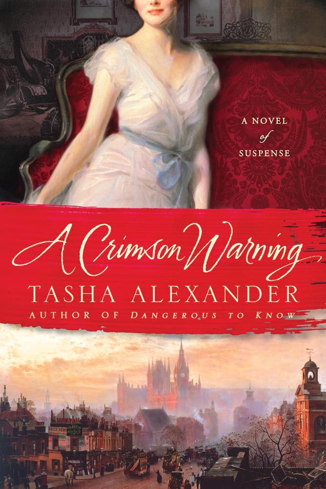 A Crimson Warning - Tasha Alexander