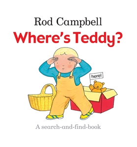 Rod Campbell - Where's Teddy?