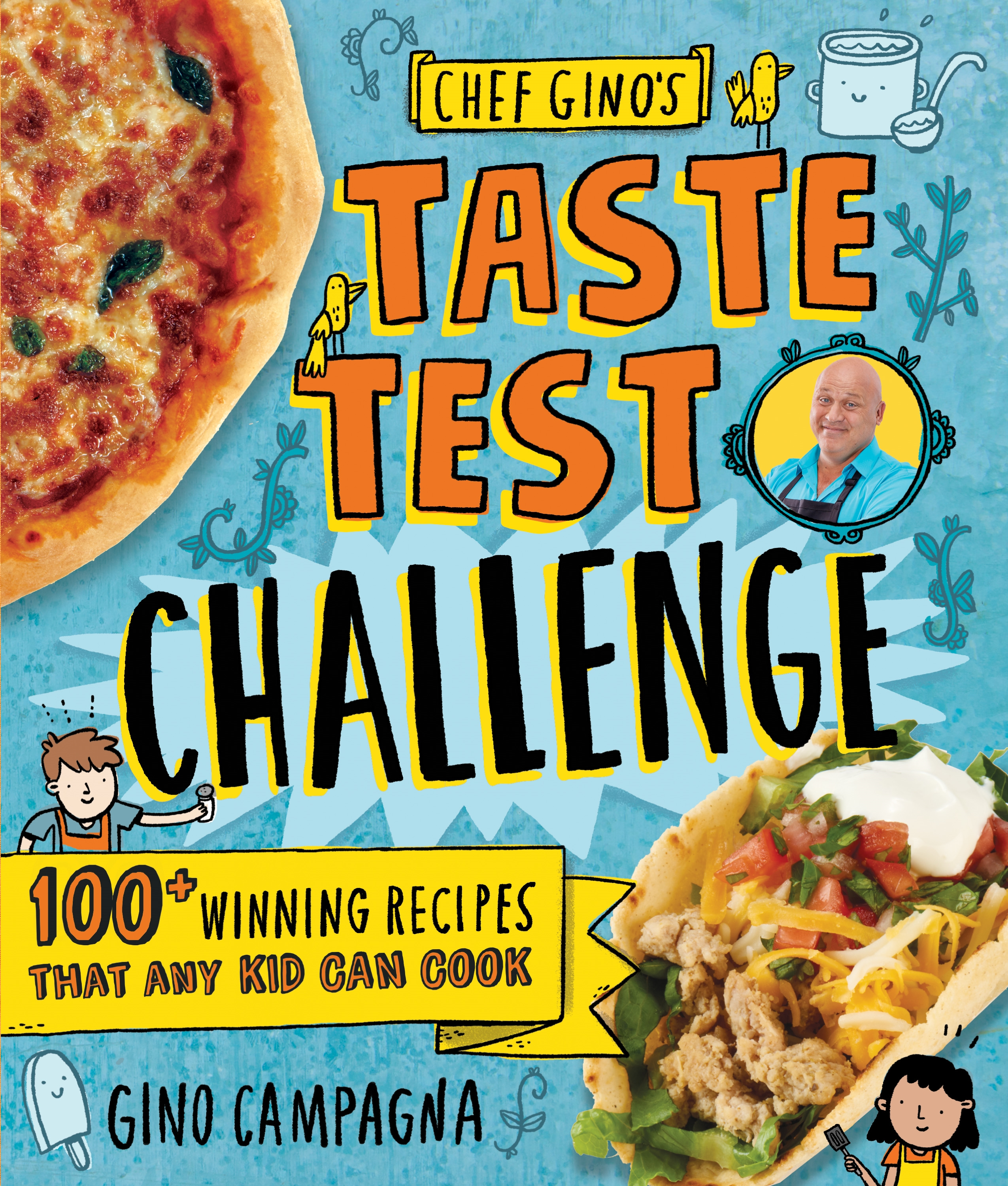 Chef Gino's Taste Test Challenge (Ages 8-12)
