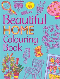 Beautiful Home Colouring Book by Katy Jackson