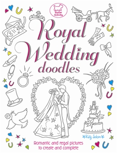 Royal Wedding Doodles by Katy Jackson