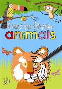 Fun to Finish Animals by Various Authors