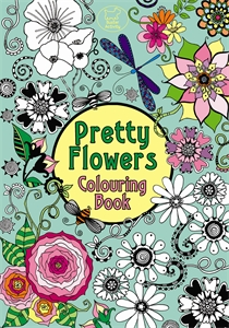 Pretty Flowers Colouring Book by Hannah Davies
