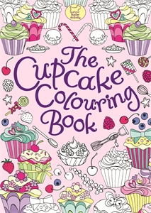 The Cupcake Colouring Book by