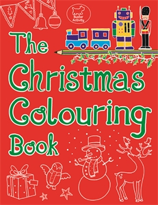 The Christmas Colouring Book by Emily Golden Twomey