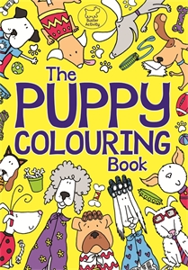 The Puppy Colouring Book by