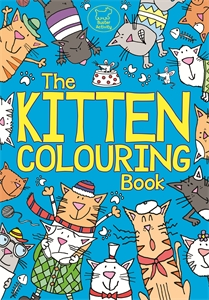 The Kitten Colouring Book by
