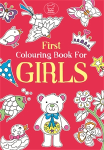 First Colouring Book For Girls by