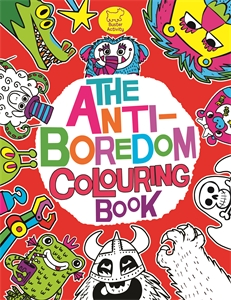 The Anti-Boredom Colouring Book by Chris Dickason