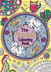 The Mandala Colouring Book by Hannah Davies