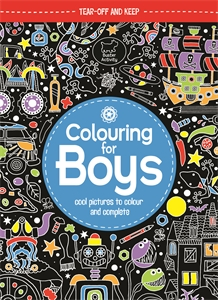 Colouring For Boys by Jessie Eckel