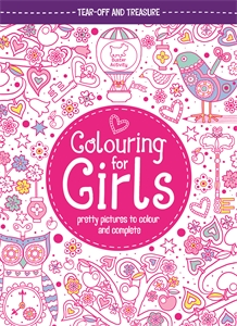 Colouring For Girls by Jessie Eckel