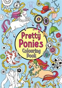 Pretty Ponies Colouring Book by Ann Kronheimer