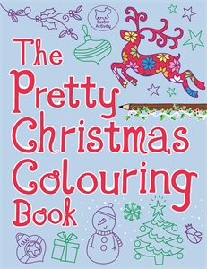 The Pretty Christmas Colouring Book by Jeannine Rundle