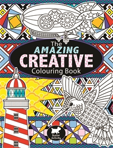 The Amazing Creative Colouring Book by Joanna Webster