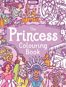 The Princess Colouring Book by Ann Kronheimer